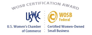 WOSB Certification Award Recognition WEB